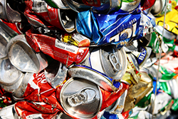 Soda Cans For Recycling